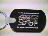 The World Peace Machine Key Chain
