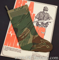 Rhodesian Camouflage Christmas Stocking