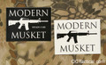 Modern Musket Decal