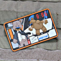 More Time Creasy Bear Morale Patch
