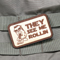R2-D2 Rollin Star Wars Morale Patch