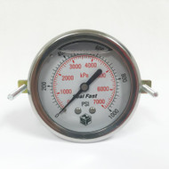 Seal Fast G2510002PSU Pressure Gauge 1,000 PSI