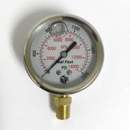 Seal Fast G2520001PS Pressure Gauge 2,000 PSI