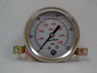 Seal Fast G252002PSU Pressure Gauge 200 PSI