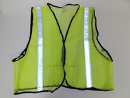 Lime Green Fitted  Mesh Safety Vest, X-Large  16308-0004