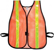 Orange Mesh Safety Vest
