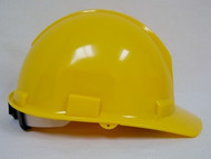 Yellow Hard Hat with Ratchet  #50200-41
