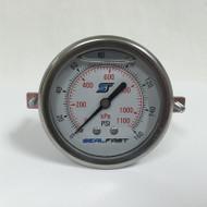 Seal Fast G251602PSU Pressure Gauge 160 PSI