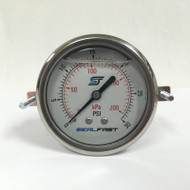 Seal Fast G25302PSU Pressure Gauge 30 PSI