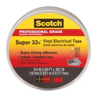 """3M Super 33+ 3/4"""" x 66' Electrical Tape"""