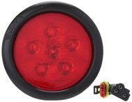 Truck Lite Super 44 , Stop/Turn/Tail, LED 4'' Sealed, 6, 17 & 42 Diode Pattern 44030R