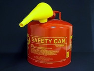 Eagle Safety Can 5-Gallon W/Spout, Red, 50FS