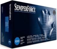 SemperForce Black Nitrile Gloves, Large