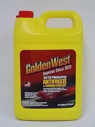 GoldenWest 50/50 Prediluted Anti-Freeze Gallon