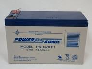 Power Sonic PS-1270 F1, 12 V Battery, 7 Ah