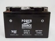 Power Source WP9B-4,  12v Battery, 8Ah
