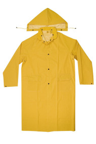 Raincoat w/Detachable Hood, 3X-Large #14506-3XL