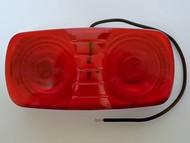 Truck-Lite 1211, Red, 26 Series M/C Light W/Permastat Cast Housing