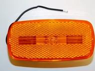 Truck-Lite 1222A, Yellow, Reflex Two Blub Lamp