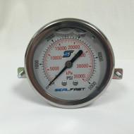 Seal Fast G2550002PSU Pressure Gauge 5,000 PSI