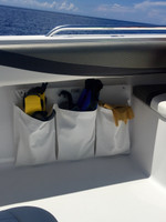 3 Pocket Finholder and More mounted with Sea Suckers.