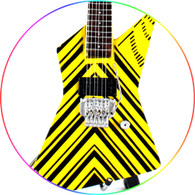 STRYPER Oz Fox Miniature Guitar Replica Collectible W 777
