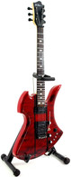 B.C. Rich Mockingbird ST Miniature Guitar Replica Collectible