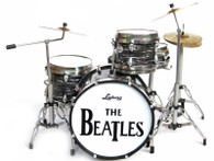 Ringo Starr The Beatles 'Metal Hoops' Miniature Drums Replica Collectible