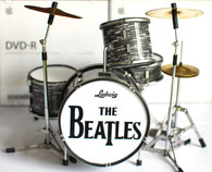"Ringo Starr The Beatles ""Super Mini"" Miniature Drums Replica Collectible"