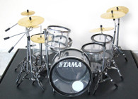 MUSE Clear Drums Dom Howard Miniature Drums Replica