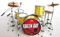 Green Day Uno Dos Tre Miniature Drums