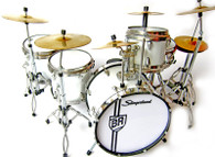 Buddy Rich BR Sling 'Metal Hoops' Miniature Drums Replica Collectible