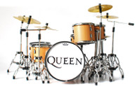 Queen Natual Wood Style Miniature Drums Super Mini