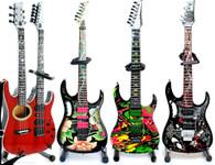 "Steve Vai Guitars Collections Miniature Size 10"""