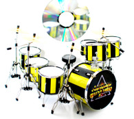 Robert Sweet STRYPER Drums Miniature Replica Collectible