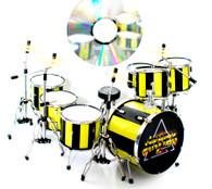 Robert Sweet STRYPER Drums Miniature Replica Collectible
