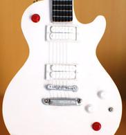 Buckethead Miniature Guitar Replica Collectible KFC White