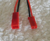 JST 2 pin connector set w leads
