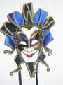 50% OFF !Joker Punte + Maxi Bavero Venetian Mask SKU 386j