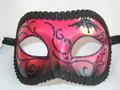 Halloween Colombina Pippistrello Venetian Mask SKU: N502
