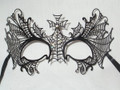 Halloween Venetian Laser Cut Web Mask. SKU N528