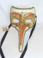 Orange Nasone San Marco Venetian Mask. SKU: 149