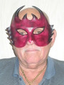 Leather Venetian Devil Mask. SKU: LO5