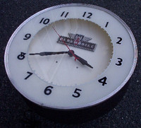 CUSTOM OLDSMOBILE NEON CLOCK
