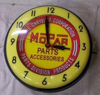 VINTAGE MOPAR NEON CLOCK