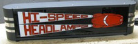 HI-SPEED LIGHTED DECO SIGN