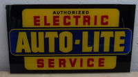 AUTO-LITE GLASS SIGN