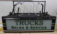 GMC TRUCKS DECO NEON SIGN
