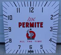 PERMITE AUTO PARTS CLOCK FACE