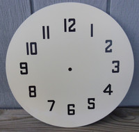 NUMBERED NPI NEON CLOCK FACE